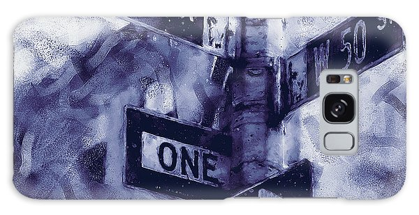 Traffic Signals Galaxy Case - Streets Of New York - 04 by Andrea Mazzocchetti