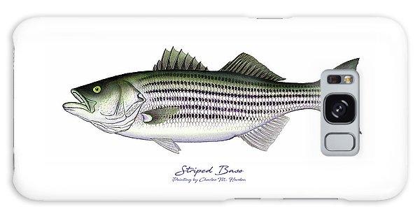 Striped Bass Galaxy Case