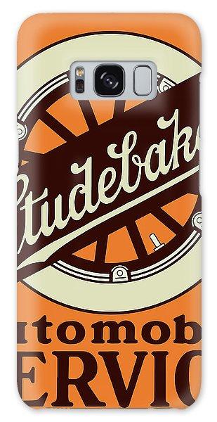 Automobile Galaxy Case - Studebaker Auto Sign by Greg Joens