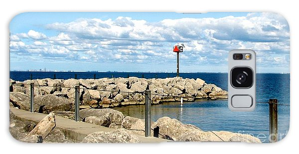 Galaxy Case featuring the photograph Sturgeon Point Marina On Lake Erie by Rose Santuci-Sofranko