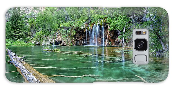 Galaxy Case featuring the pastel Submerged Log, Hanging Lake Colorado by Nathan Bush