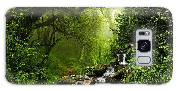 Environments Galaxy Case - Subtropical Forest In Nepal by Quick Shot