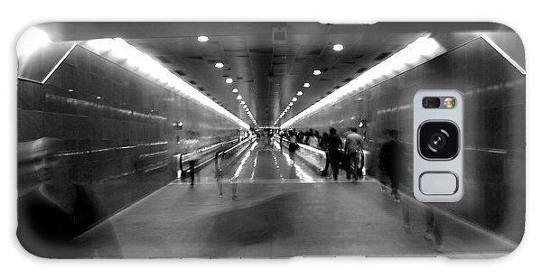Galaxy Case featuring the photograph Subway Ghosts by Edward Lee
