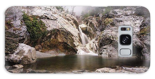 Suchurum Waterfall, Karlovo, Bulgaria Galaxy Case