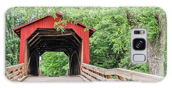 Sugar Creek Covered Bridge Galaxy Case