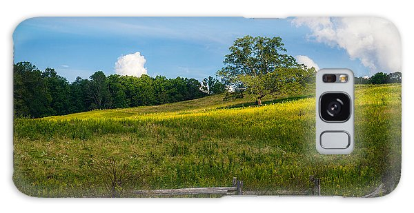 Blue Ridge Parkway - Summer Fields Of Yellow - Lone Tree Galaxy Case