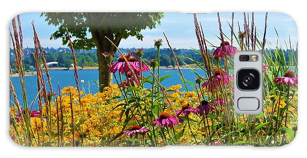 Summer Flowers Vancouver 1 Galaxy Case