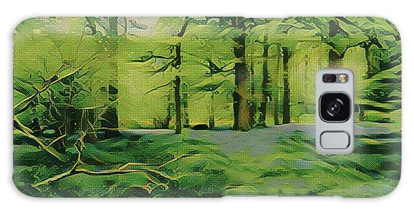 Galaxy Case - Summer Morning Mist by Digital Painting