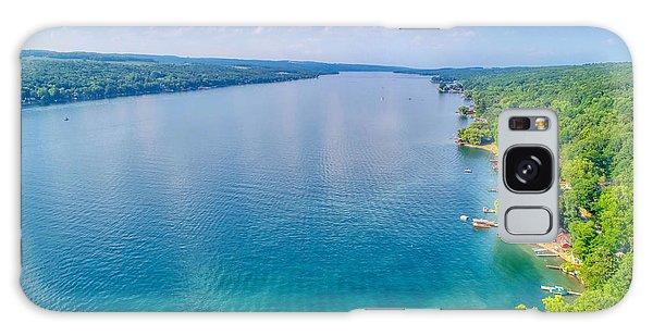 Summer On Keuka Lake Galaxy Case