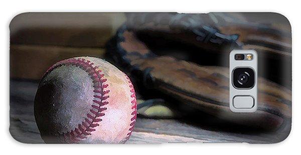 Baseball Galaxy Case - Summer Passtime by Tom Mc Nemar