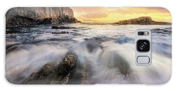 Summer Sunrise At Bald Head Cliff Galaxy Case