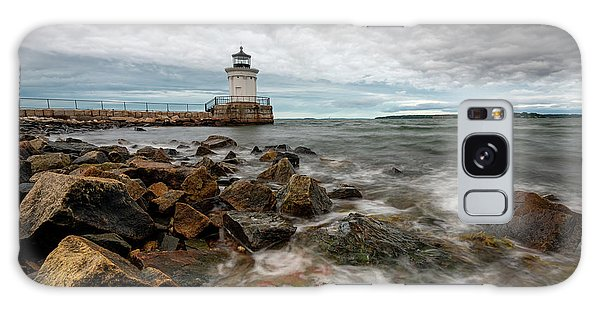 Summer Tides At Bug Light Galaxy Case