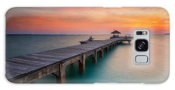 Marina Galaxy Case - Summer, Travel, Vacation And Holiday by Anek.soowannaphoom