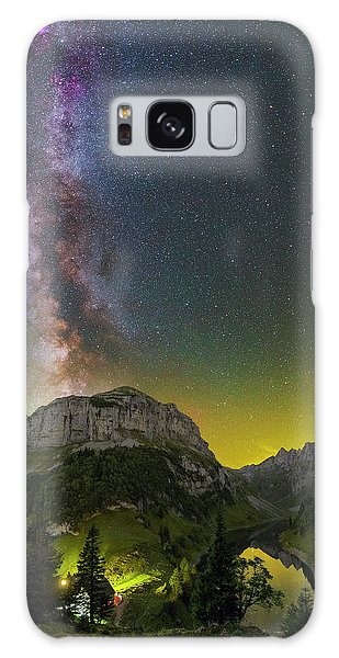 Summer's End Galaxy Case