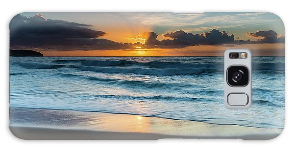 Sun Glow Seascape Galaxy Case