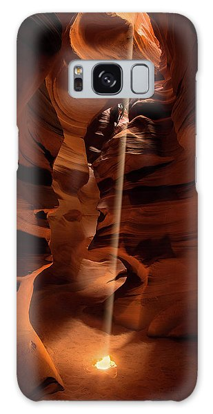 Sunbeam In Upper Antelope Canyon Galaxy Case