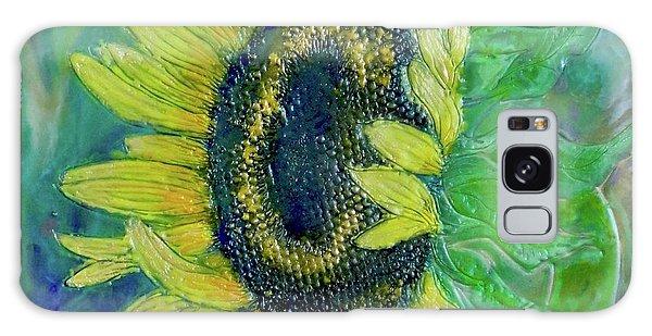 Sunflower Smiles Galaxy Case