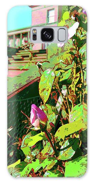 Galaxy Case featuring the digital art Sunny Like Florida by Joy McKenzie - Abbie Shores