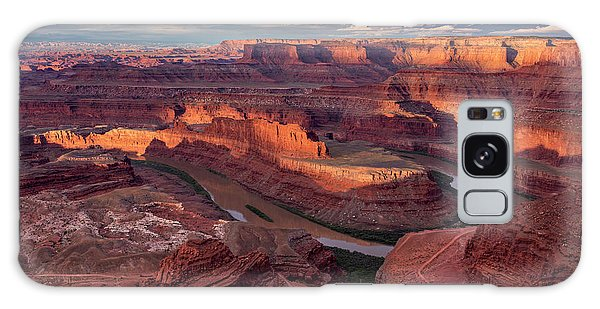 Islands In The Sky Galaxy Case - Sunrise At Dead Horse Point State Park by Dan Norris