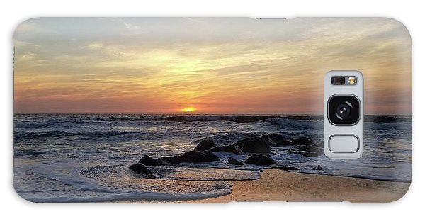Sunrise At The 15th St Jetty Galaxy Case