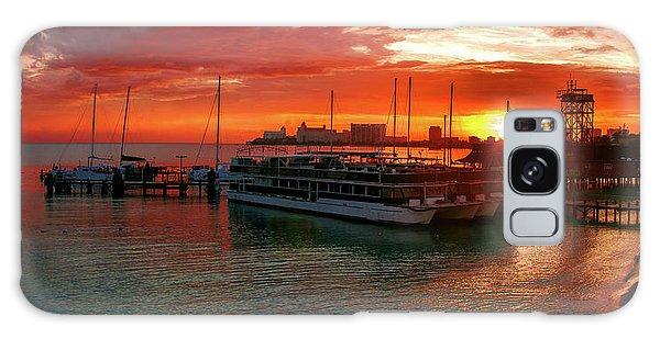 Sunrise In Cancun Galaxy Case