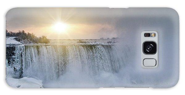 Sunrise In Niagara Falls Galaxy Case
