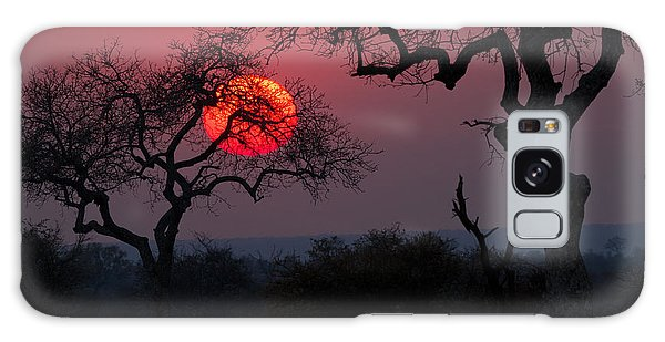Scenery Galaxy Case - Sunrise In The African Savanna Kruger by Francesco De Marco