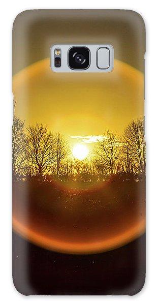 Sunrise. New Years Eve. Galaxy Case