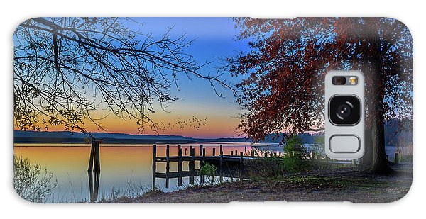 Galaxy Case featuring the photograph Sunrise On The Patuxent by Cindy Lark Hartman