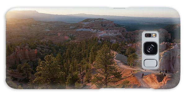 Sunrise Over Bryce Canyon Galaxy Case