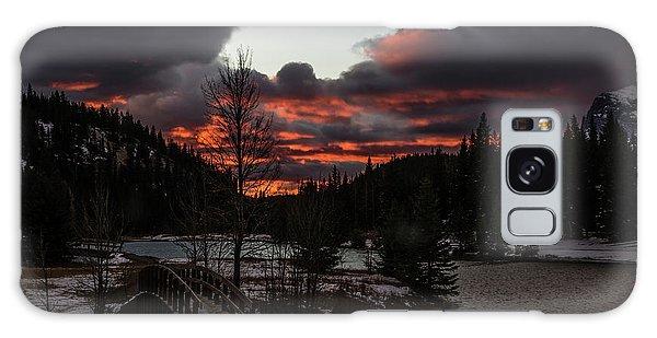 Sunrise Over Cascade Ponds, Banff National Park, Alberta, Canada Galaxy Case