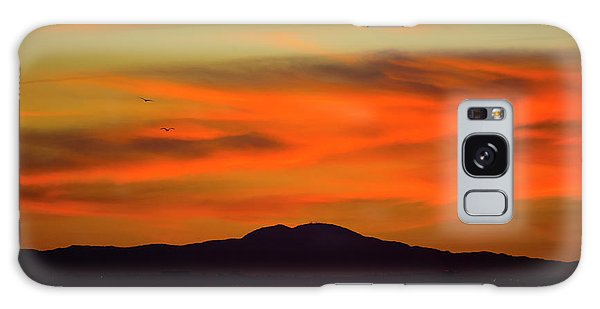 Sunrise Over Santa Monica Bay Galaxy Case