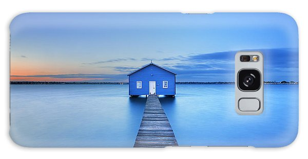 No People Galaxy Case - Sunrise Over The Matilda Bay Boathouse by Sara Winter