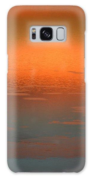 Sunrise Reflections Galaxy Case