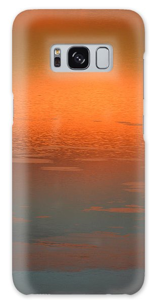 Sunrise Reflections Galaxy Case