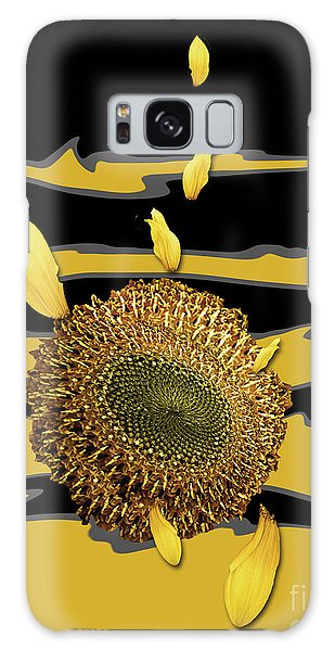 Sun's Flower Galaxy Case