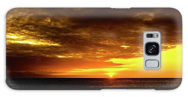 Sunset And Surf Galaxy Case