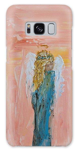 Sunset Angel Galaxy Case