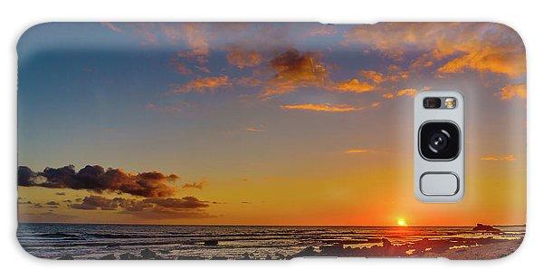 Sunset At Kailua Beach Galaxy Case