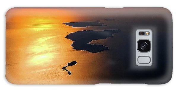 Sunset At Lyon Rock Galaxy Case