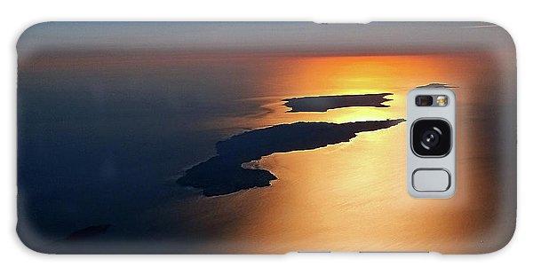 Sunset At Lyon Rock II Galaxy Case