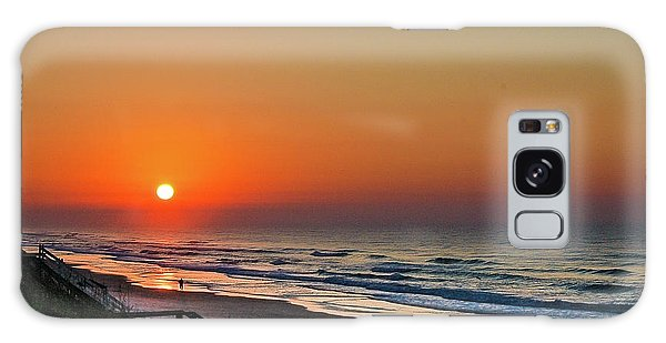 Sunset At Surf City Nc Galaxy Case