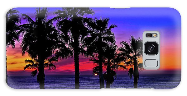 Sunset From The Ocean Park Inn Galaxy Case