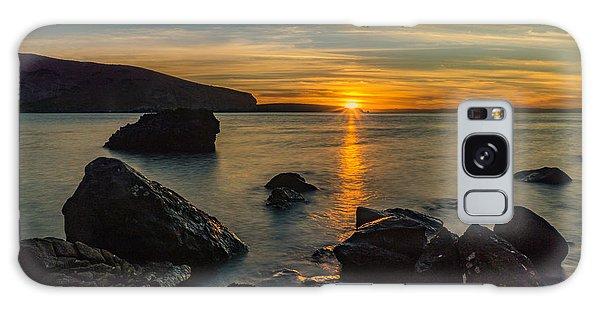 Sunset In Balandra Galaxy Case