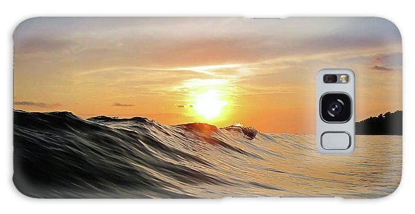 Beautiful Sunrise Galaxy Case - Sunset In Paradise by Nicklas Gustafsson