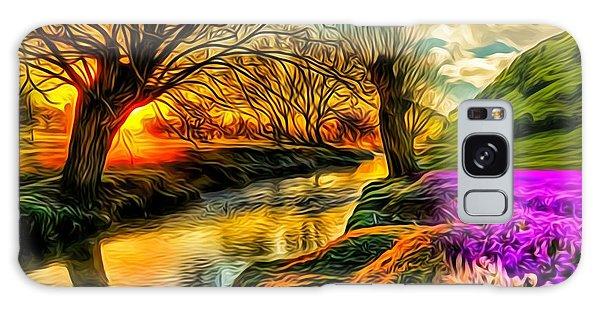 Sunset Landscape Galaxy Case