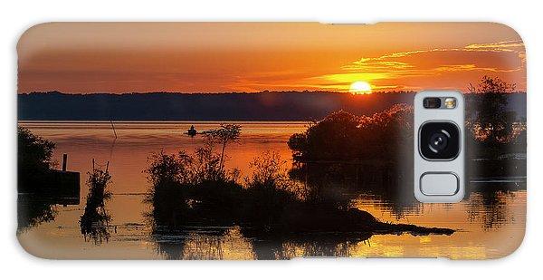 Sunset, Mallows Bay Galaxy Case