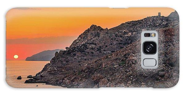 Sunset Near Cape Tainaron Galaxy Case
