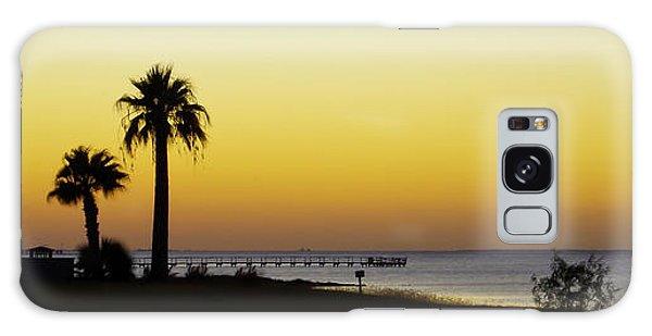 Sunset On Copano Bay, Texas Galaxy Case