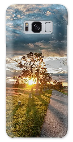Sunset On The Field Galaxy Case